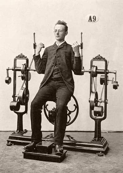 Vintage picture fitness