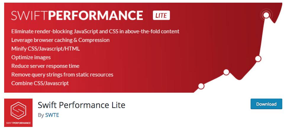 WP Extra Swift Performance Lite plugin